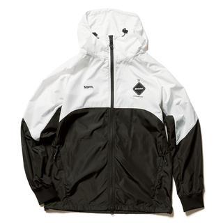 エフシーアールビー(F.C.R.B.)の黒白S fcrb 20aw ベンチレーショントラックジャケット アウター 新品(パーカー)