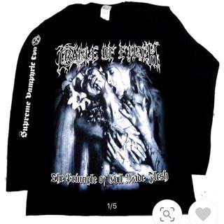 フィアオブゴッド(FEAR OF GOD)のCRADLE OF FILTHヘヴィメタロンTマンソンクレイドルオブフィルス(Tシャツ/カットソー(七分/長袖))