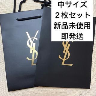 イヴサンローランボーテ(Yves Saint Laurent Beaute)のYSL イヴサンローラン ショッパー ショップ袋  中サイズ(ショップ袋)