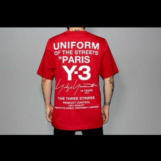 Y-3 - Y-3 パリ限定Tシャツ uniform of the streets