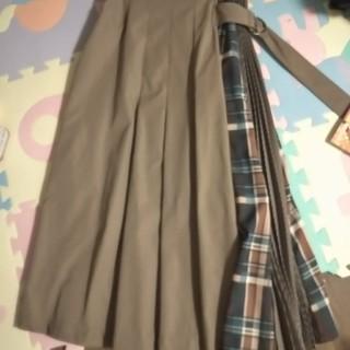 スコットクラブ(SCOT CLUB)のFENNEL プリーツロングスカート フェンネル(ロングスカート)