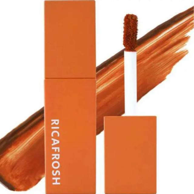 新品未開封 RICAFROSH リカフロッシュ  01 オランジェット 古川優香 コスメ/美容のベースメイク/化粧品(口紅)の商品写真