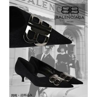 バレンシアガ(Balenciaga)のバレンシアガ BBキトンヒール 新品 他サイズあり(ハイヒール/パンプス)