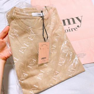 eimy istoire - 【新品未使用】 エイミーイストワール ベージュ Tシャツ ♥