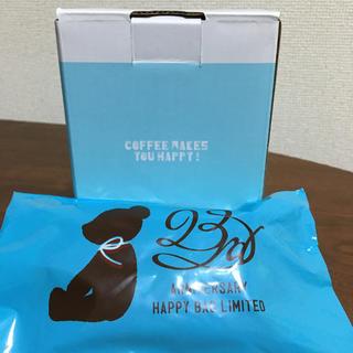 タリーズコーヒー(TULLY'S COFFEE)の新品!タリーズタンブラーとベアーのセット(タンブラー)
