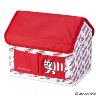 Lisa Larson - リサラーソン  マイキーのハウス型 収納BOX