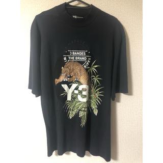 ワイスリー(Y-3)のY-3 モックネック プリントTシャツ(Tシャツ/カットソー(半袖/袖なし))