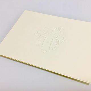 エルメス(Hermes)のエルメス  ギフトカード 封筒なし(カード/レター/ラッピング)
