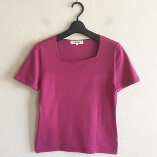 ポールスチュアート(Paul Stuart)のポールスチュワート♡ピンク色のカットソー(カットソー(半袖/袖なし))
