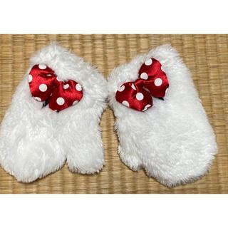 Disney - TDL 子供用 ミニーマウス グローブ型 ミトン 手袋