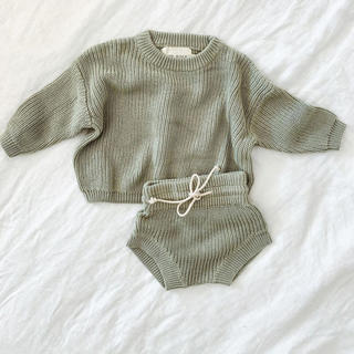 Caramel baby&child  - 新品 our folk ニットセット 3T sage