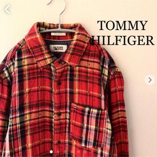 トミーヒルフィガー(TOMMY HILFIGER)のトミーヒルフィガー  チェックシャツ S   TOMMY HILFIGER(シャツ)