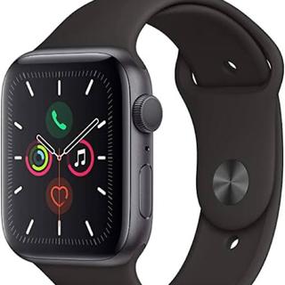 Apple Watch - apple watch series5 44mm ブラック