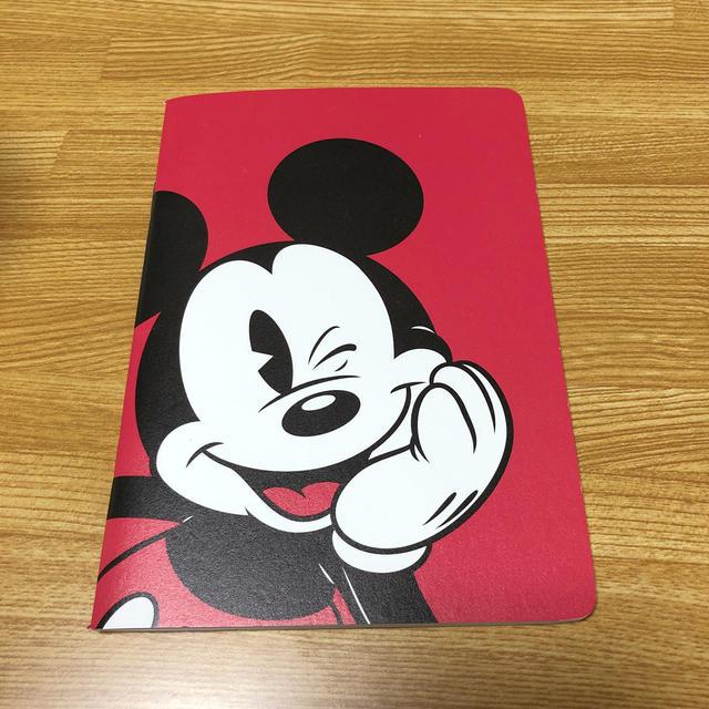 Disney(ディズニー)のミッキー ノート インテリア/住まい/日用品の文房具(ノート/メモ帳/ふせん)の商品写真