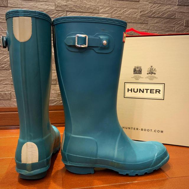 HUNTER(ハンター)のハンター 長靴 オリジナルキッズ キッズ/ベビー/マタニティのキッズ靴/シューズ(15cm~)(長靴/レインシューズ)の商品写真