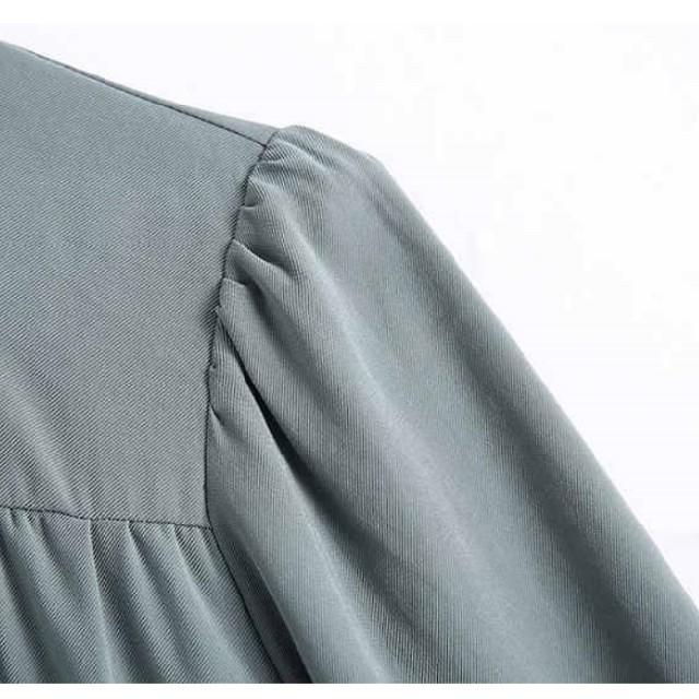 ZARA(ザラ)のシャツ ワンピース 【4size】    レディースのワンピース(ひざ丈ワンピース)の商品写真