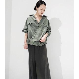 Plage - プラージュ  製品加工アーミーシャツ