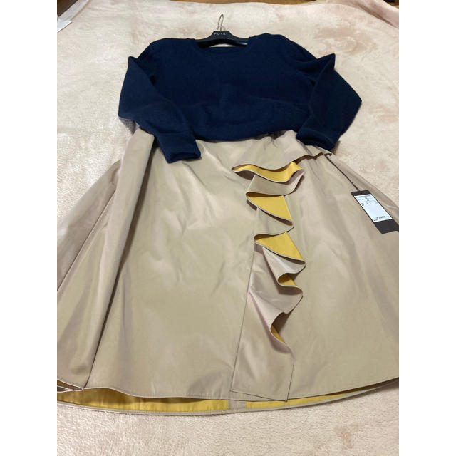 FOXEY(フォクシー)の専用インスタ掲載完売未使用42サイズskirt レディースのスカート(ひざ丈スカート)の商品写真