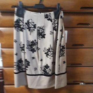 エムズグレイシー(M'S GRACY)の最終価格。2019年 エムズグレイシー 新品タグつきスカート(ひざ丈スカート)