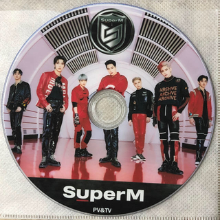 シャイニー(SHINee)のSuper M DVD(K-POP/アジア)