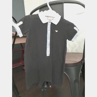 アルマーニ ジュニア(ARMANI JUNIOR)のアルマーニベイビー ロンパース ARMANI Baby  ブランド ポロシャツ(ロンパース)