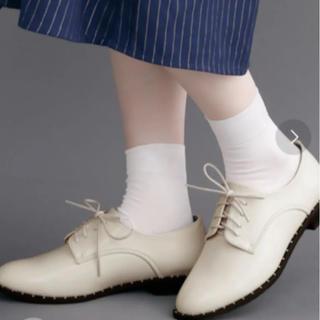 メルロー(merlot)のmerlot メルロー スタッズレースアップマニッシュシューズ(ローファー/革靴)
