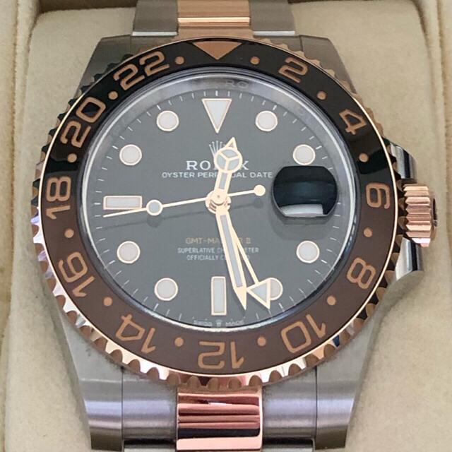 ROLEX(ロレックス)の【yasu 様専用 ①】GMTマスター2 126711CHNR メンズの時計(腕時計(アナログ))の商品写真