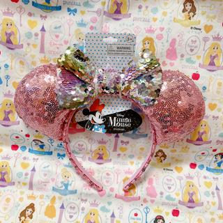 Disney - ディズニー ミニーちゃんのミミ限定 カチューシャ フリー