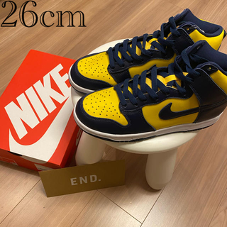 "ナイキ(NIKE)のNIKE Dunk High SP ""Michigan"" 26cm(スニーカー)"