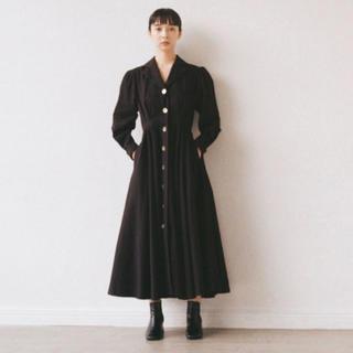 ヤエカ(YAECA)のfoufou the dress #17 M 試着のみ(ロングワンピース/マキシワンピース)