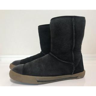 アグ(UGG)のUGG アグ スウェード キッズブーツ ブラック20.5cm(ブーツ)