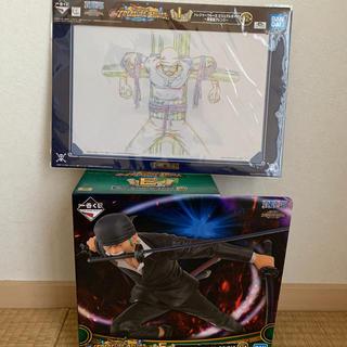 BANDAI - ワンピース 一番くじ ゾロ フィギュア セット