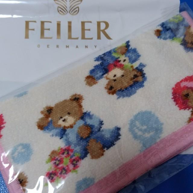 FEILER(フェイラー)の値下げ【新品】フェイラーハンカチ レディースのファッション小物(ハンカチ)の商品写真