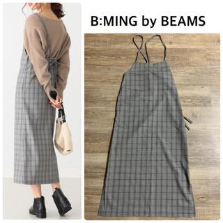 ビーミング ライフストア バイ ビームス(B:MING LIFE STORE by BEAMS)の【B:MING by BEAMS】バックリボン ジャンパースカート(ロングスカート)