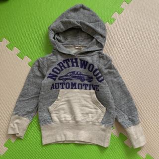 ニードルワークスーン(NEEDLE WORK SOON)のオフィシャルチーム バックプリント スウェットパーカー(Tシャツ/カットソー)