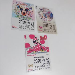 ディズニー(Disney)の東京ディズニー  リゾートライン こどもフリーきっぷ   (その他)