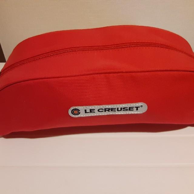 LE CREUSET(ルクルーゼ)のル・クルーゼ ポットカバーL チェリーレッド インテリア/住まい/日用品のキッチン/食器(調理道具/製菓道具)の商品写真