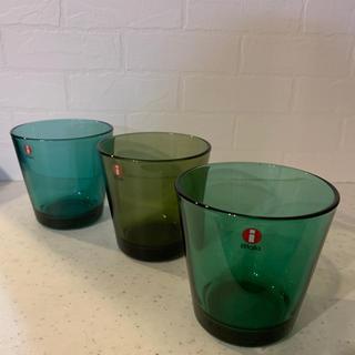 イッタラ(iittala)のイッタラ カルティオ グラス 3個 1月のみ値下げ❣️(グラス/カップ)