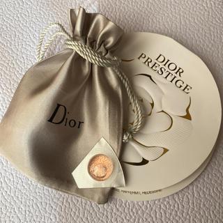 Dior - New マイクロユイルドローズセラム 1ml ロゴ入り巾着♡