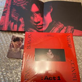 シャイニー(SHINee)のテミン TAEMIN act1 ミニポスター・トレカ付き(K-POP/アジア)