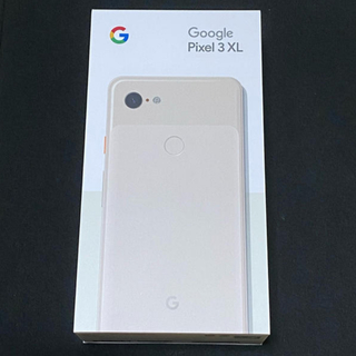 ANDROID - Google Pixel3 XL Not Pink 128GB