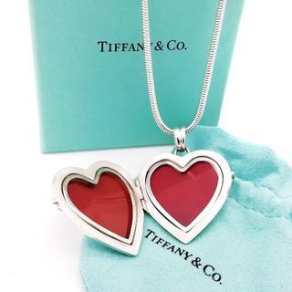 Tiffany & Co. - 極希少 美品 ティファニー ハート ロケット ネックレス LI88