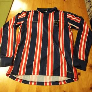 エフシーアールビー(F.C.R.B.)のF.C.Real Bristol×NIKE/ストライプ 長袖 ポロシャツ(ポロシャツ)