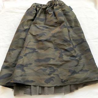 イエナスローブ(IENA SLOBE)のSLOBE IENA 膝丈 チュール リバーシブル スカート(ひざ丈スカート)