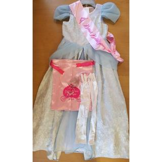 Disney - 130cm ビビディバビディブティック ドレス ポーチ 髪飾り グローブ