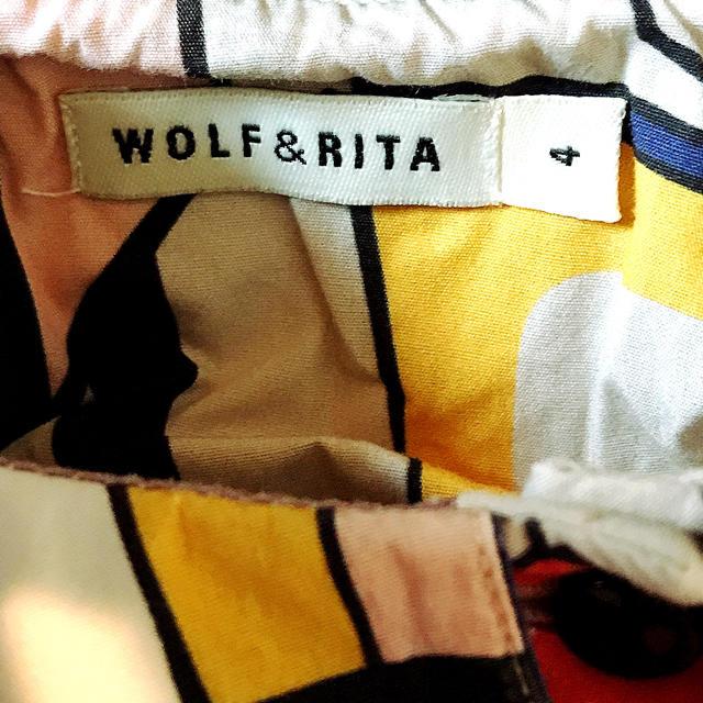 Caramel baby&child (キャラメルベビー&チャイルド)のWOLF&RITA ウルフアンドリタ チュニック カットソー ワンピース 長袖  キッズ/ベビー/マタニティのキッズ服女の子用(90cm~)(ブラウス)の商品写真