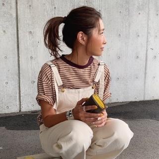 BEAUTY&YOUTH UNITED ARROWS - 【新品】6(ROKU)>マルチボーダービッグTシャツ/ユーナイテッドアローズ
