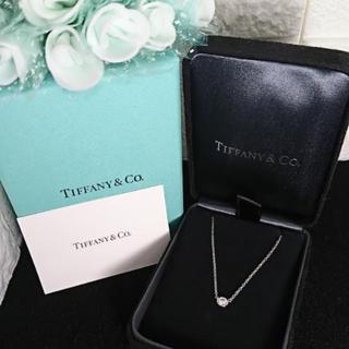Tiffany & Co. - TIFFANY プラチナダイヤ バイザヤードネックレス❤️