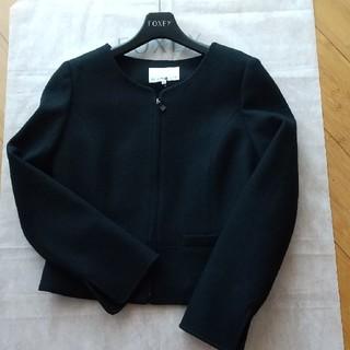 M-premier - エムプルミエ  ウール ノーカラー ジャケット
