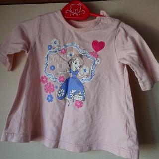 ベルメゾン(ベルメゾン)の七分袖 Tシャツ チュニック 女の子 プリンセスソフィア 80(シャツ/カットソー)